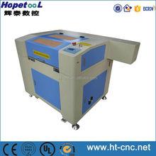 Laser Heads laser engraving wood machine of work area 600*400mm