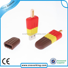 New product novelty usb flash drive with ice cream shape