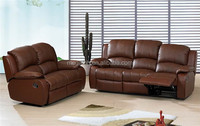 Luxury home furniture 1+2+3 sectional leather sofa set (FOH-SF2508)