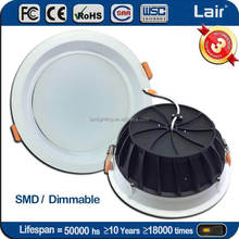 Factory price SMD 30W 18W 9W 3W down lighting luces led