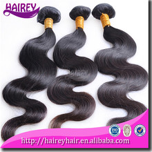 Cut from one donor 100% unprocessed remy vigin natural human hair weft eurasian ocean wave hair
