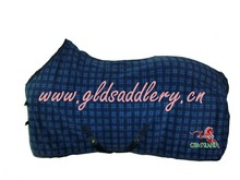 US$12.00 Printed fleece horse rug/ fleece cooler/ polar fleece horse rugs