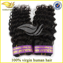 2014 best wholesale virgin hair supplier,natural color curly european virgin hair