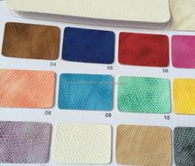 lizard grain pvc leather for bags handbags covers etc