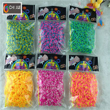hot sale high quality tie dye loom bands & rubber bands factory price