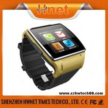 2014 new fashionable touch screen bluetooth smart watch phone for android smart mobile phone