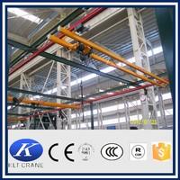 KBK model light track small single girder overhead crane