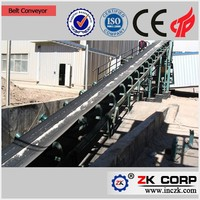 Long Distance Corn Belt Conveyor With Large Capacity Made In China