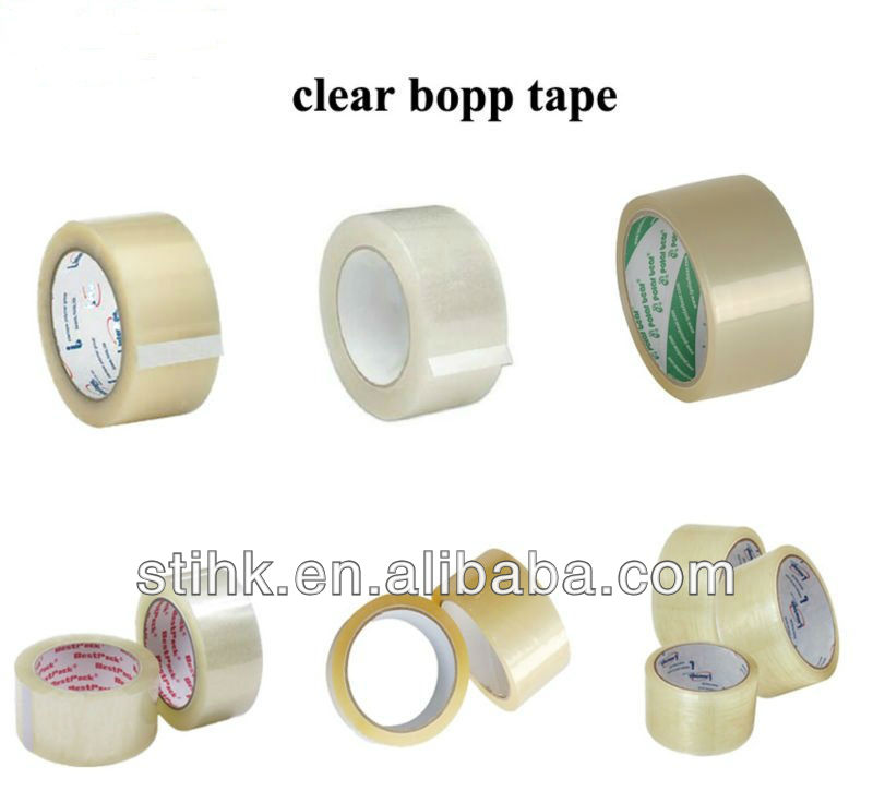MST 250MC6 Water Based Acrylic Adhesive Bopp Packing Tape Manufacturer