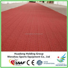 IAAF approved synthetic natural rubber rolls for rubber running track