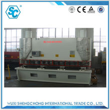 CNC Hydraulic metal shear 25mm thickness 3200mm length