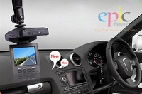 EP-198 Shenzhen HD 2.4 inches color LCD Portable car dvr,sport dv,driver for mini dv