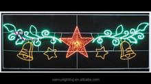 Hot sale high quality Artificial Led Motif Design Light LED Christmas Decorations