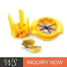 Atacado plástico cortador de limão