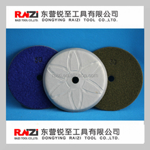 vacuum brazed polishing pad for granite marble glass and other stone concrete
