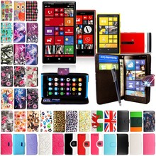 Hot selling Wholesale China Cell Phone Leopard PU Leather Case for Nokia Lumia 930, Print Case for Nokia