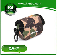 Neopine 2015 new fashion colorful camera neoprene bag for go pro, for action cameras