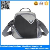 Black colorful nylon outdoor handbag messenger bag cheap mobile phone cases