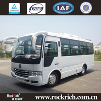 Dongfeng brand 6.6M 23 seats Chinese minibus price for sale