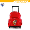 Red Color Kids Trolley School Bag Kids Trolley Backpack