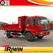 China discount price EURO 4 DFL3120B6 200hp 4x2 mini small 6 wheel 5 ton dump truck