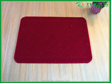 Non Slip Soft Stepping Fashion red printing floor mats