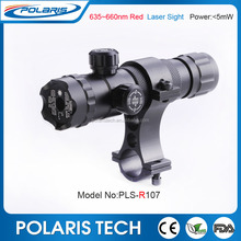 Good Quality Tactical 650nm 5mW Red laser m4 sight with new Push button end cap switch