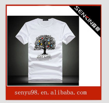 sure brand t shirts fashion wholesale with OEM