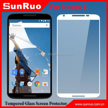 0.3mm tempered glass screen protector for nexus6, for screen protector google phone