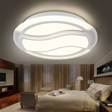 Modern style led celing lamp for bedroom, living room acrylic lighting round special style white color or 3 colors RC home lamp
