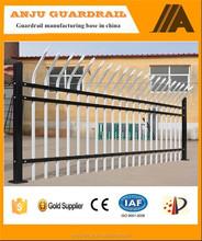 Anju brand alibaba gold supplier high security ornamental steel fence DK012
