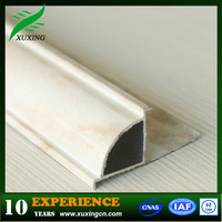 High quality all kinds of aluminum tile trim round edge samples