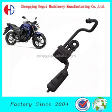 low price supe weld black chrom 200cc ST12 generator exhaust pipe