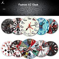 New arriva Hot AJ Jordan Fashion Wooden Wall Clocks Mixed styles