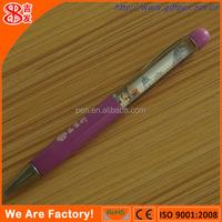 Advertising the plastic Liquid filled Pen