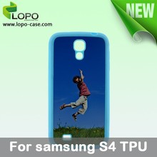 2D sublimation TPU phone case for Samsung Galaxy S4