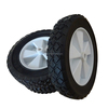 8 inch lawn mover semi solid wheel