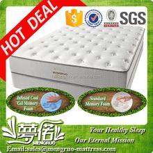 5 star hot queen size memory foam hotel bed mattress