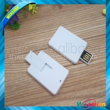 white card usb flash drive ultra-thin usb flash memory OEM