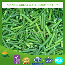 frozen green garlic sprouts with high quality