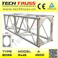 BD66-RS45 Outdoor stage/truss for hanging/design for pipe truss 2.Aluminum stage truss system roof trusses design