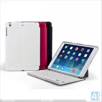 LED Light Laptop Keyboard Leather Case for iPad Mini 2 P-APPIPDM2PUKB003