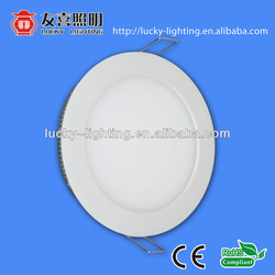 CE led panel light aluminum frame