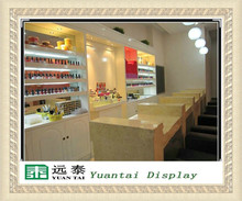 simple design layout nail bar kiosk for manicure nail kiosk