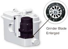 Cuarto de baño amoladoras/moledoras/esmeriles eyector de la bomba del sistema