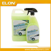 Auto car wash, waterless car wash, no-wax