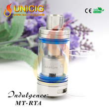 Unicig rta tank Indulgence MT-RTA cloud vaporizer in USA market