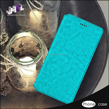 Fashionable Design Clear Leather Phone Case Cover