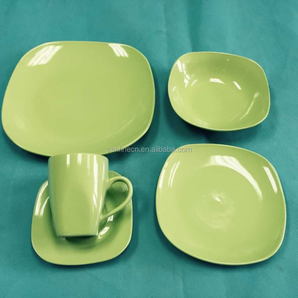 square stoneware dinner set wholesale 16pcs stoneware dinnerware cheap