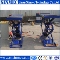 Professional supply double scissor car lift/body repair with 2 years warranty